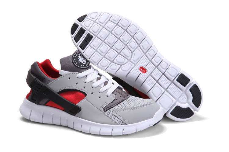 Olympiques de 2012 Hommes Nike Free 4.0 gray Rouge
