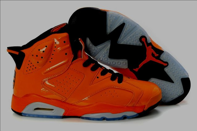 2012 New Air Jordan 6 VI Retro Homme Chaussure Orange Buy en ligne