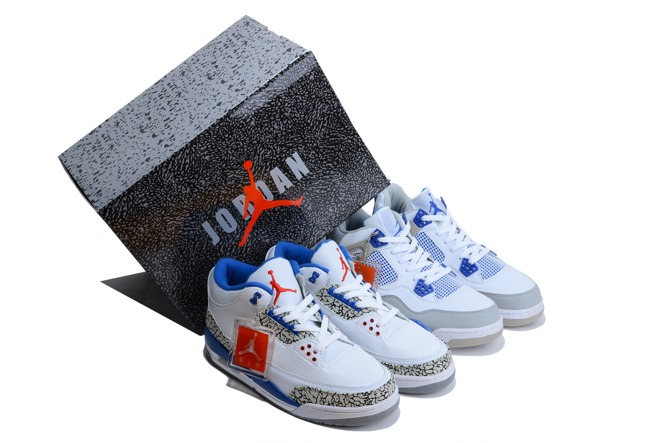 2013 Air Jordan 3 Jordan 4 Cement J3 And J4 Limited Homme Chaussure
