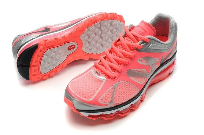 2013 For Sale Air Max 2012 Femme Chaussure Breathable en ligne Red Grey Noir