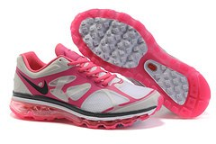 2013 For Sale Air Max 2012 Femme Chaussure Breathable en ligne Red blanc Noir