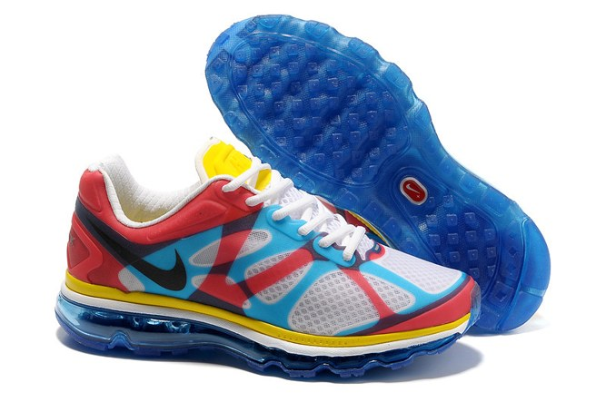 2013 For Sale Air Max 2012 Femme Chaussure Breathable en ligne Red blanc Yellow Noir