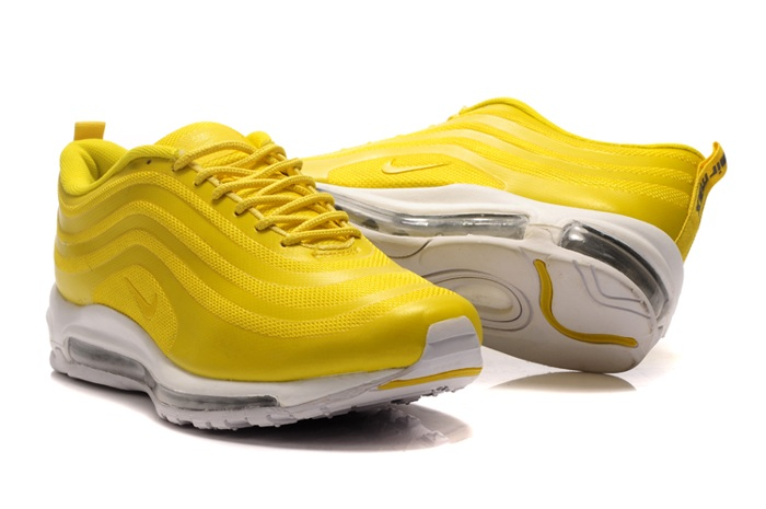 2013 New Nike Air Max 97 Men Chaussure Discount For Sale Yellow