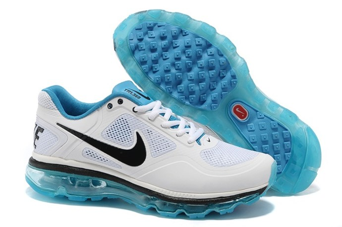 2013 Outlet To Buy Nike Air Max 2013 Men Chaussure blanc Noir Yellow Bleu