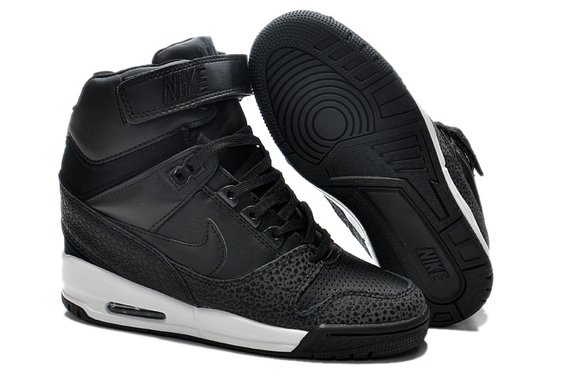 2014 Nike Air Revolution Sky High Femmes All Black KDLP0023