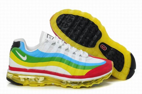 95 Air Max 360 Homme Chaussure Colorful Gros Fashion pas cher
