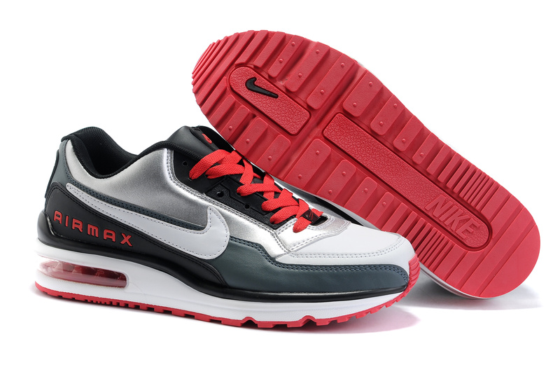 AIR MAX LTD 01 Homme Chaussure pas cher blanc Red Gray