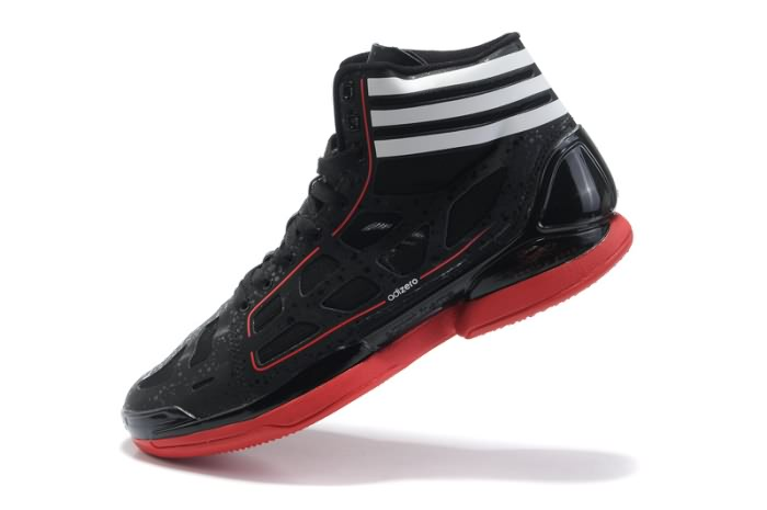 Adidas adizero Crazy Light NBA 2011 MVP Derrick Rose Chaussures de basket Noir/Blanc/Rouge