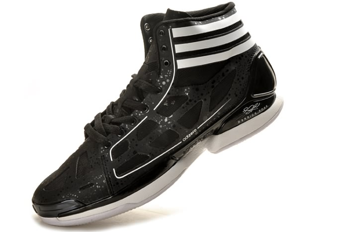 Adidas adizero Crazy Light NBA 2011 MVP Derrick Rose Chaussures de basket Noir/Blanc