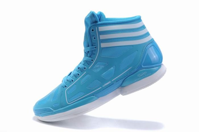Adidas adizero Crazy Light NBA 2011 MVP Derrick Rose Chaussures de basket-Moon/Blanc