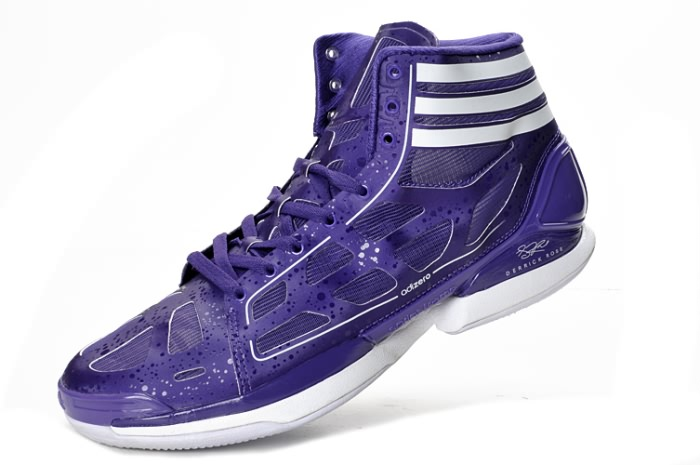 Adidas adizero Crazy Light NBA 2011 MVP Derrick Rose violet/blanc Chaussures de basket-ball