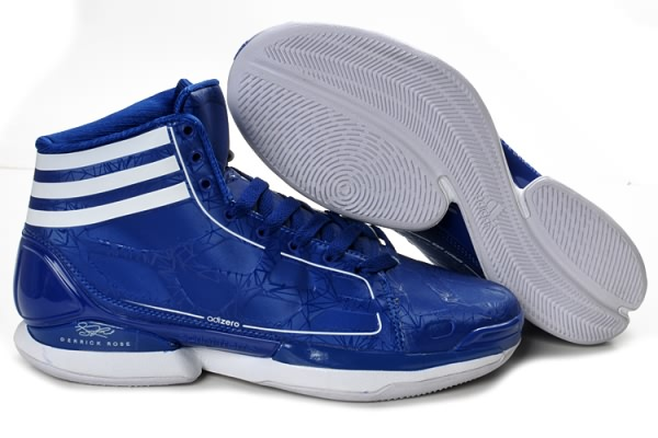 Adidas adizero Crazy Light 8810 cuir Derrick Rose Chaussures de basket-ball Bleu