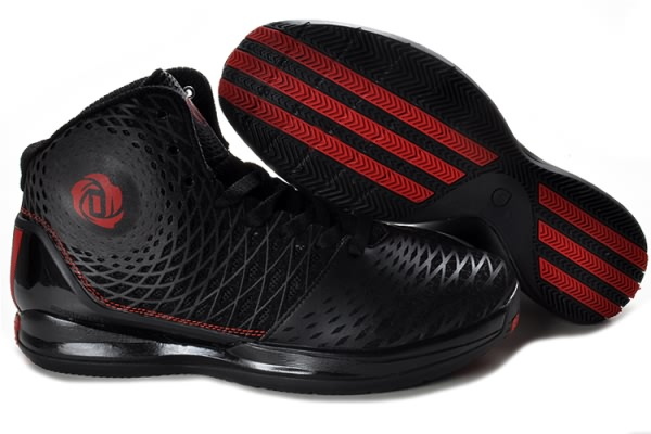 Adidas adizero Derrick Rose 3,5 Spider-Man Noir/Rouge Chaussures de basket-ball