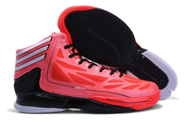 Adidas Adizero Crazy Light 2 pour Derrick Rose Chaussures de basket orange/noir