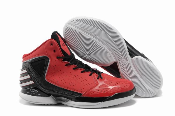 buy popular c8e22 0f430 Adidas Derrick Rose 773 Rouge Noir Chaussures de basket-ball