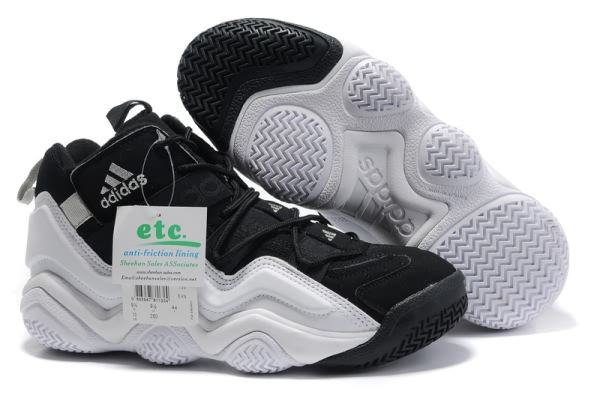 Adidas Top Ten 2000 noir/blanc Chaussures de basket-ball
