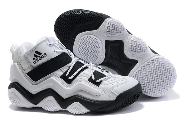 Adidas Top Ten 2000 Blanc/Noir Chaussures de basket-ball