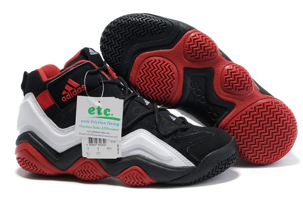 Adidas Top Ten 2000 blanc/Noir/Red Chaussures de basket-ball