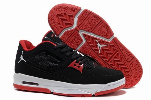 Air JORDAN FLIGHT 23 RST LOW 2013 Homme Chaussure For Sale Noir Red