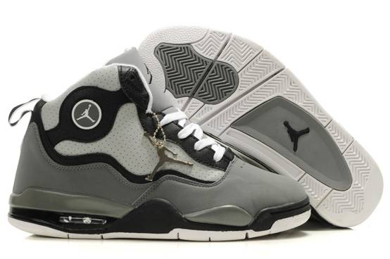 Air Jordan TC Men Chaussure Grey Gros