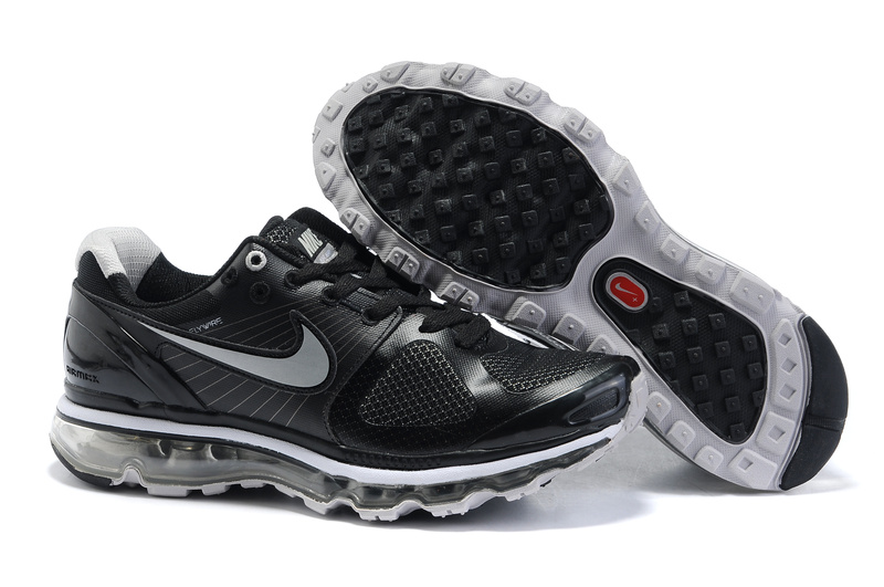 Air Max 2010 Netty Homme Chaussure pas cher Noir grey