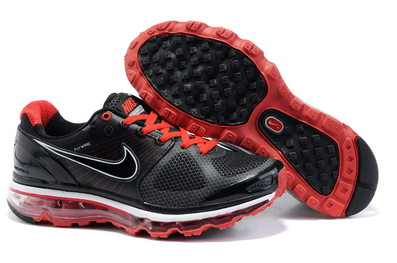 Air Max 2010 Netty Homme Chaussure pas cher Noir red
