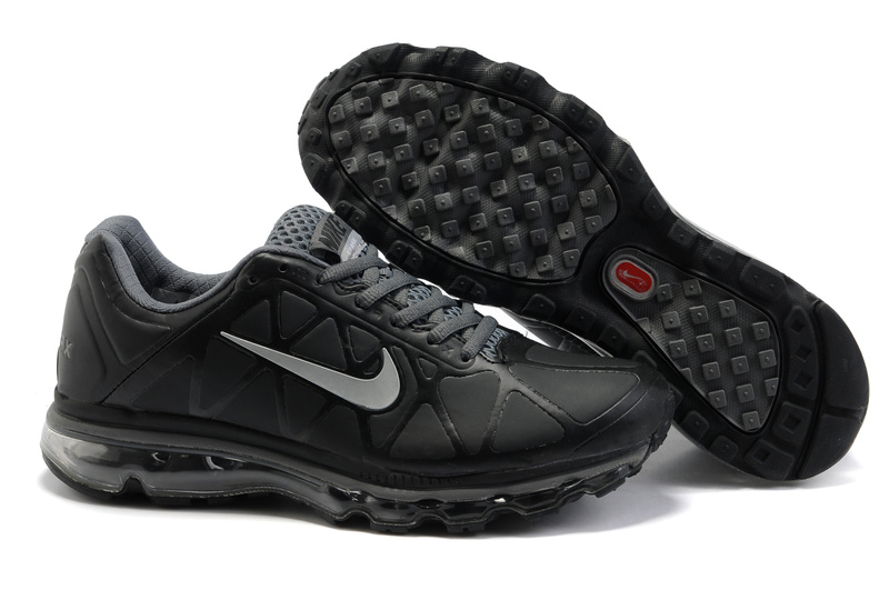 Air Max 2011 Leather Homme Chaussure Gros Noir