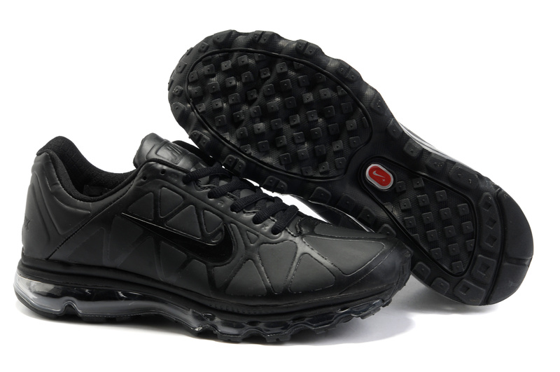 Air Max 2011 Leather Homme Chaussure Gros pure Noir