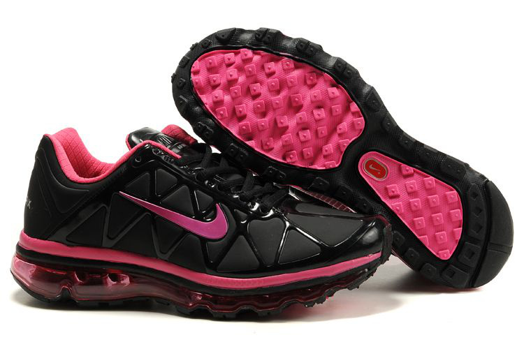 Air Max 2011 Leather Femme Chaussure Discount Sale Noir Pink