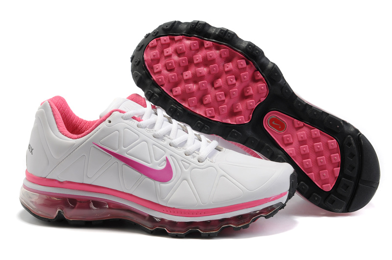 Air Max 2011 Leather Femme Chaussure Discount Sale blanc Mauve Pink