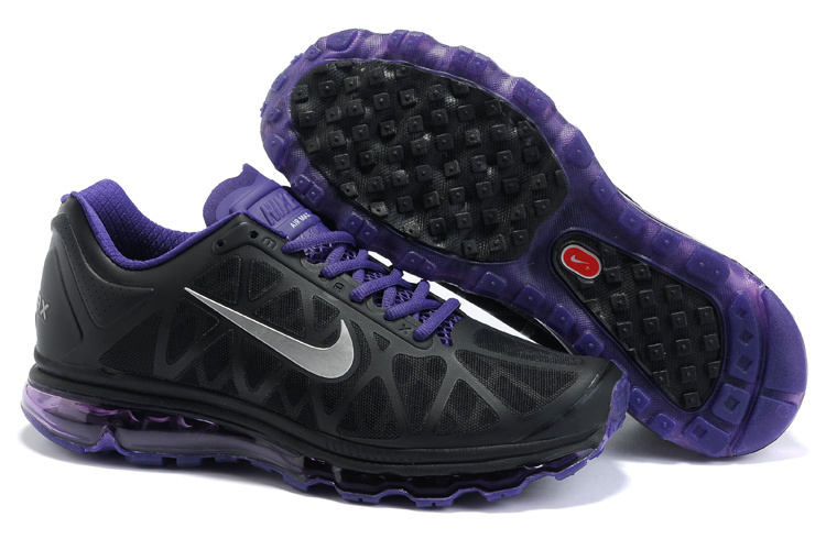 Air Max 2011 Netty Homme Chaussure Discount Noir purple