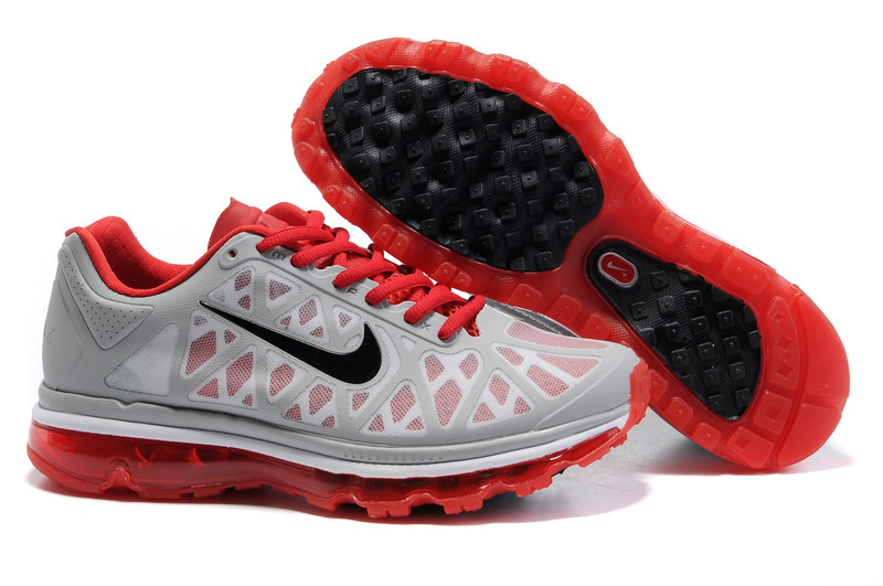 Air Max 2011 Netty Homme Chaussure Discount Noir red grey