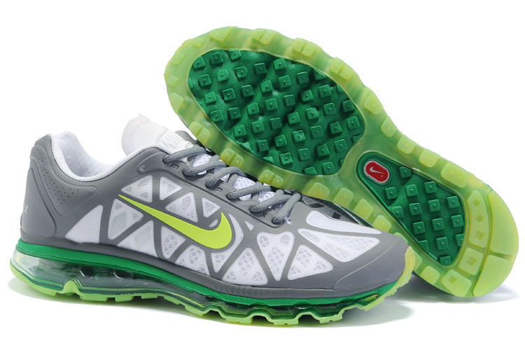 Air Max 2011 Netty Homme Chaussure Discount green grey