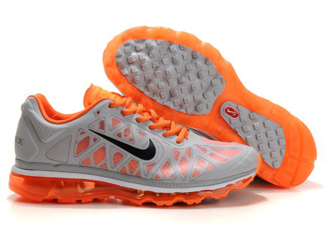Air Max 2011 Netty Homme Chaussure Discount orange grey