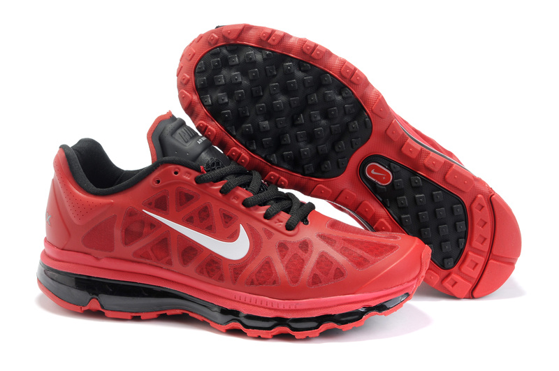 Air Max 2011 Netty Homme Chaussure Discount red Noir