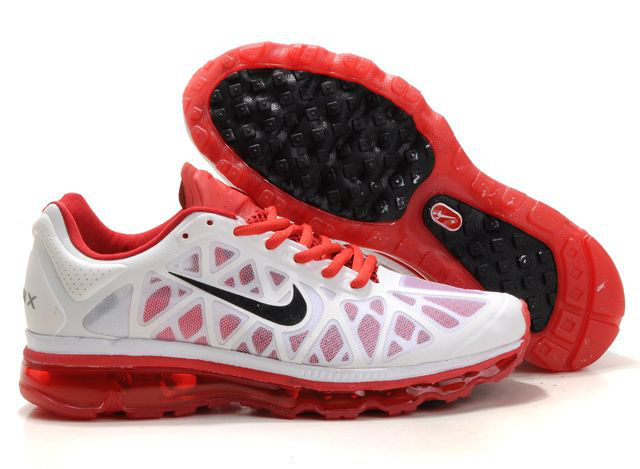 Air Max 2011 Netty Homme Chaussure Discount red blanc