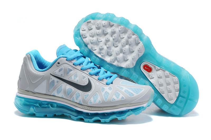 Air Max 2011 Netty Femme Breathable-Running Chaussure Bleu Noir Gray