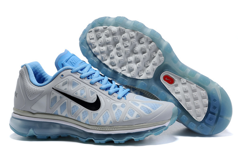 Air Max 2011 Netty Femme Breathable-Running Chaussure Bleu Gray Noir