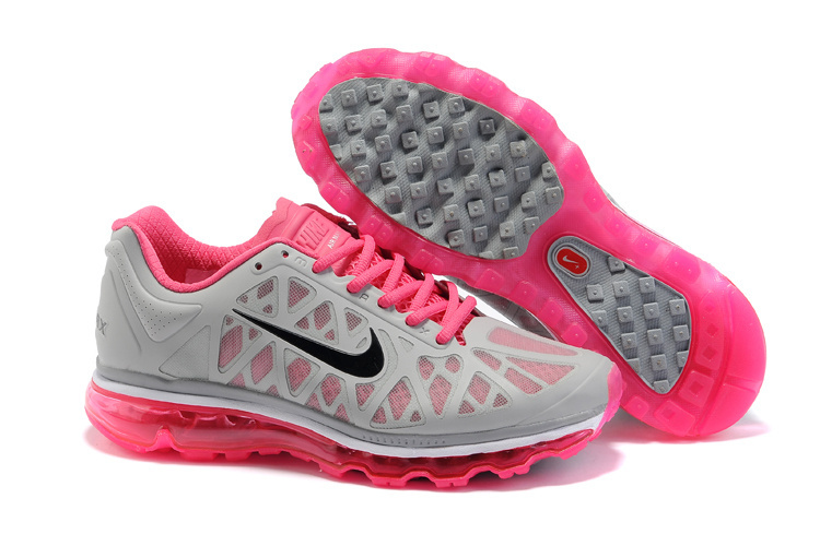 Air Max 2011 Netty Femme Breathable-Running Chaussure Crimson Gray Noir