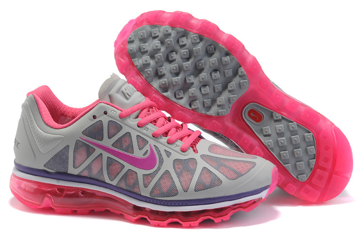 Air Max 2011 Netty Femme Breathable-Running Chaussure Fushcia Pink Gray