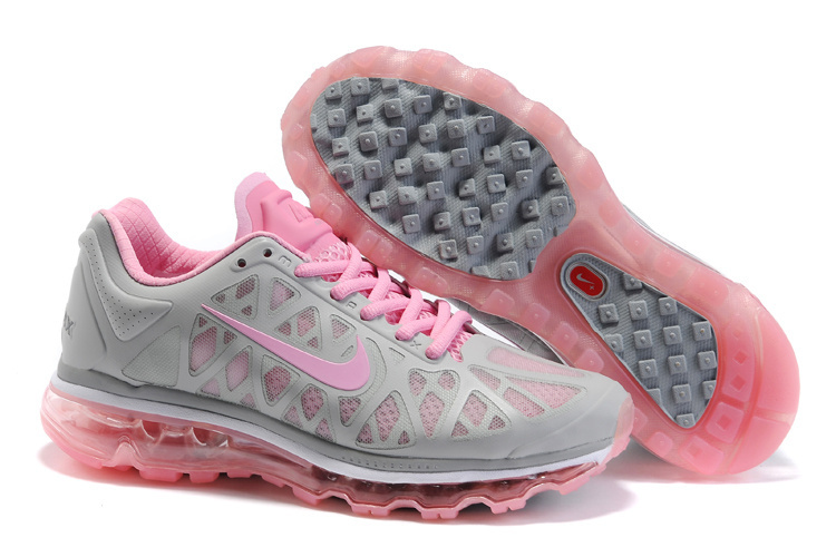 Air Max 2011 Netty Femme Breathable-Running Chaussure Pink Gray