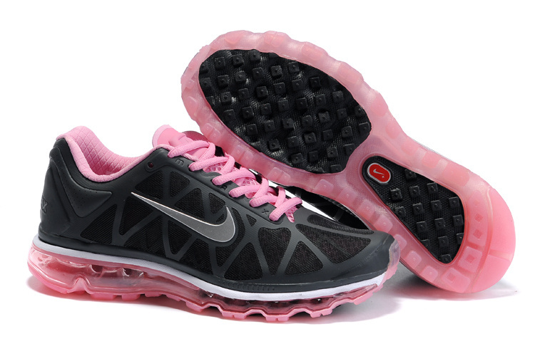 Air Max 2011 Netty Femme Breathable-Running Chaussure Pink Silver Noir