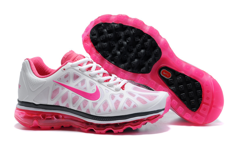 Air Max 2011 Netty Femme Breathable-Running Chaussure Pink blanc Noir
