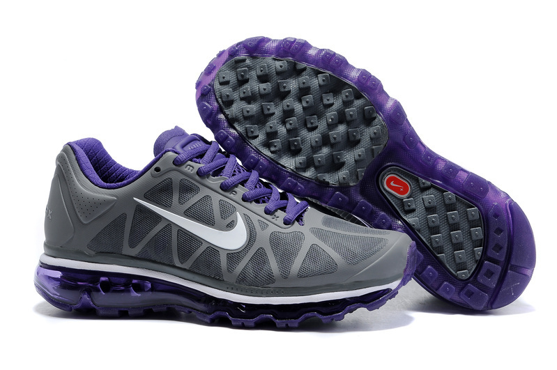 Air Max 2011 Netty Femme Breathable-Running Chaussure Purple blanc Gray