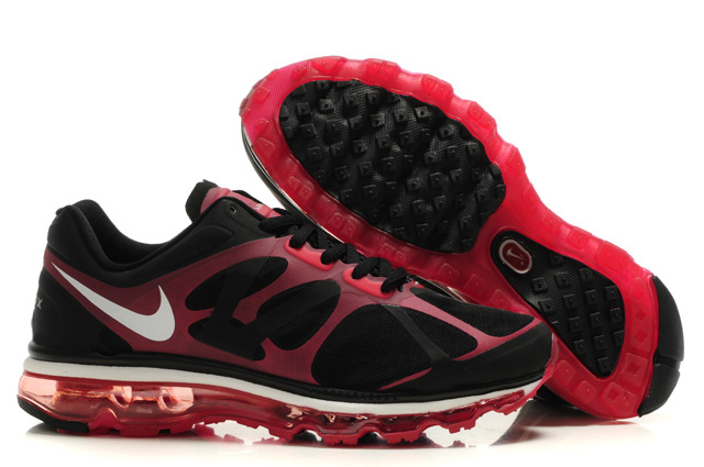 Air Max 2012 Breathable Homme Chaussure Noir Red