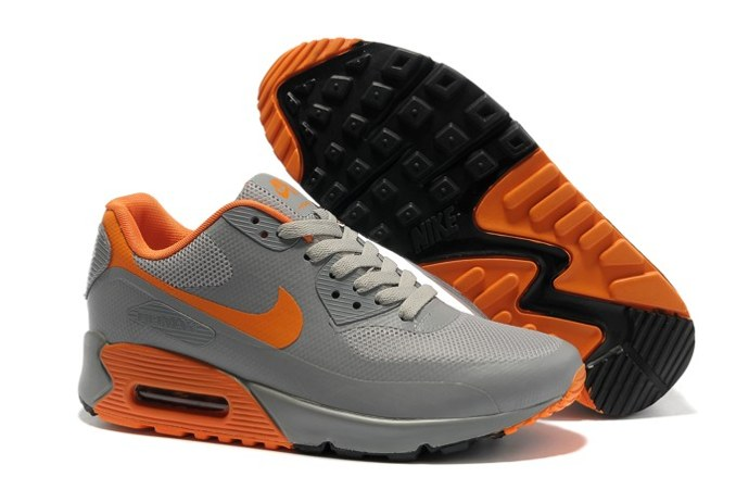 Air Max 90 Hyperfuse Prm Homme Chaussure Shopping en ligne Grey Orange