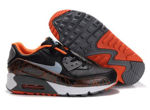 Air Max 90 Homme Chaussure pas cher en vente Red Brown
