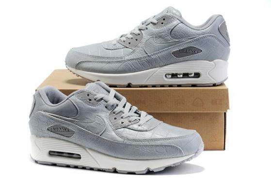 Air Max 90 Homme Chaussure Gros for Men Grey