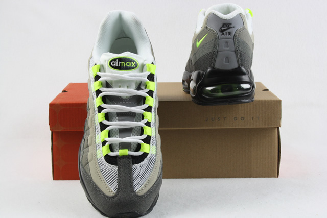 Air Max 95 Homme Chaussure Gros Gray Green