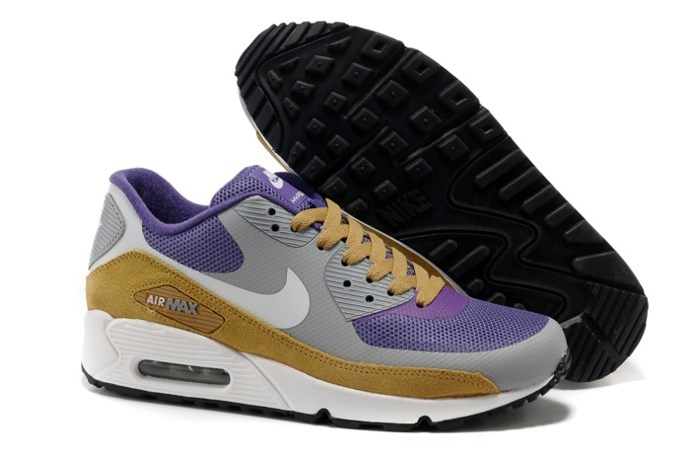 pas cher Sale Air Max 90 Hyperfuse Homme Chaussure Fur en ligne Shopping Purple Grey